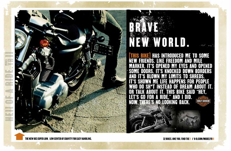 "Harley-Davidson ""Brave New World"""