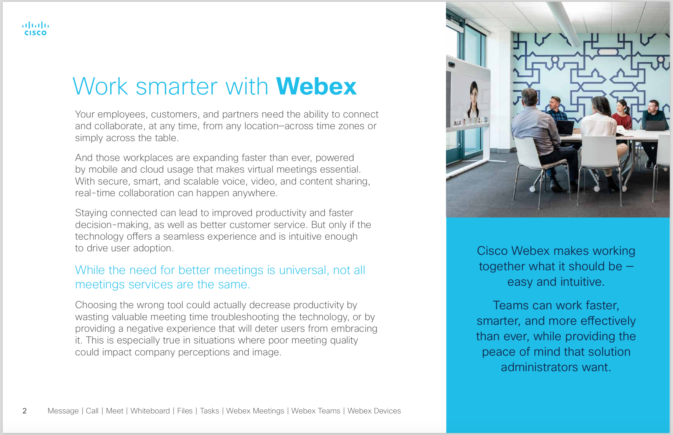 Cisco Webex 5 Reasons 2