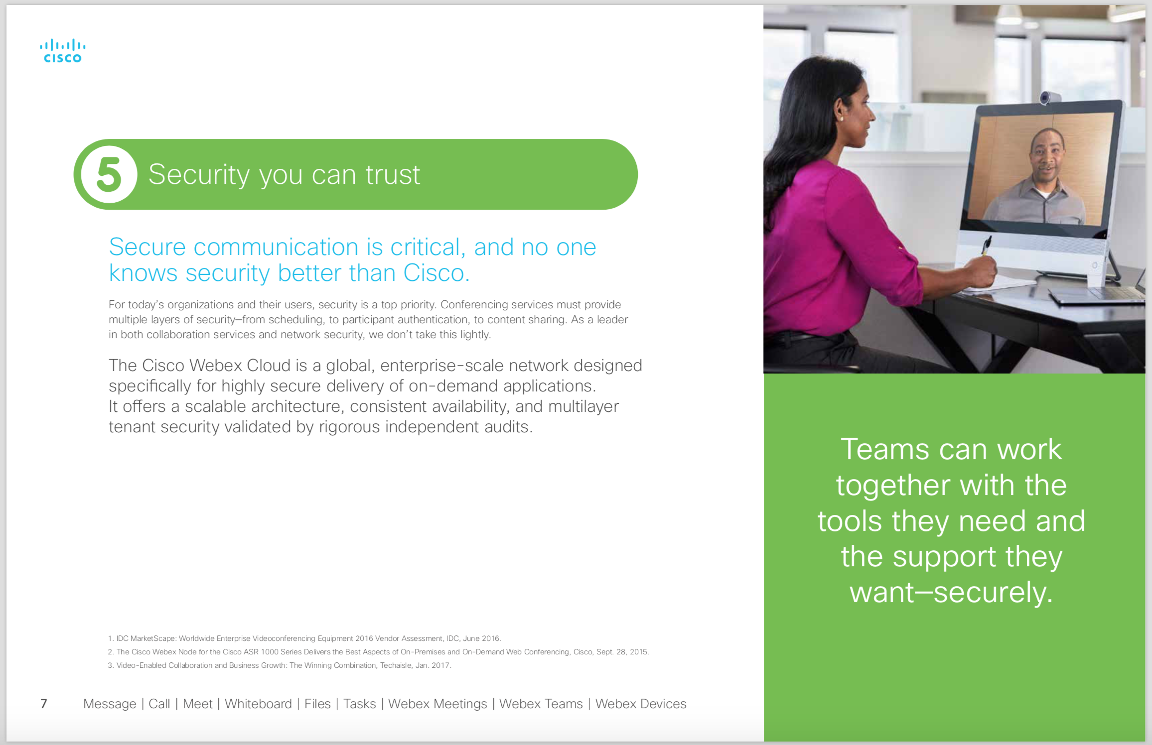 Cisco Webex 5 Reasons 7