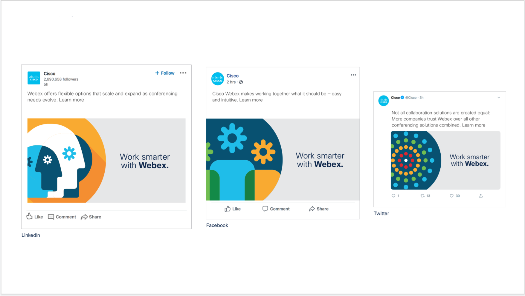 Cisco Webex 5 Reasons Social